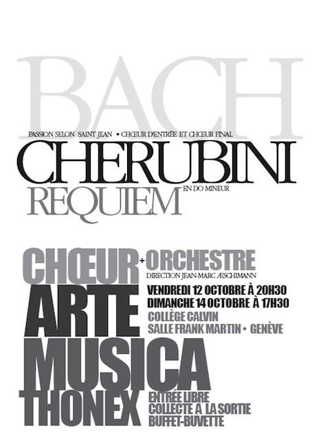 Affiche du concert Arte Musica 2007