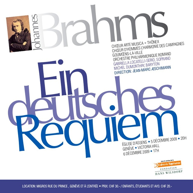 Affiche du concert Arte Musica 2009