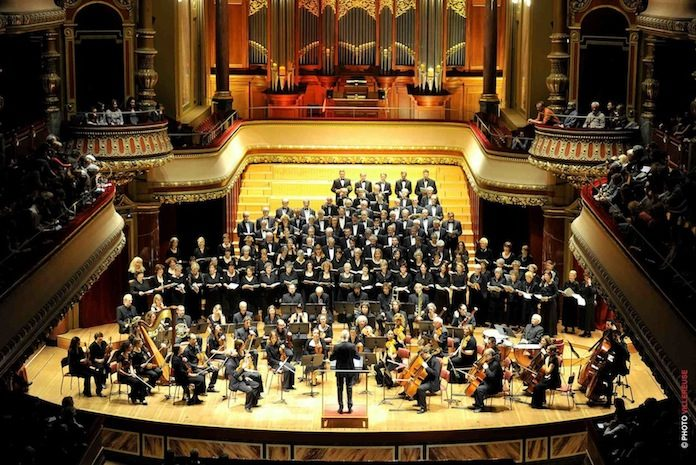 Les choristes d'Arte Musica